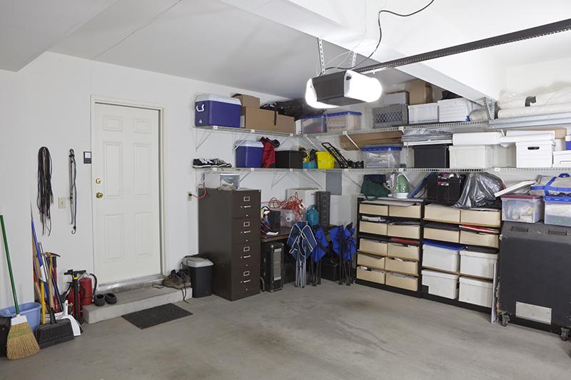 Opening The Door To A Beautiful Garage