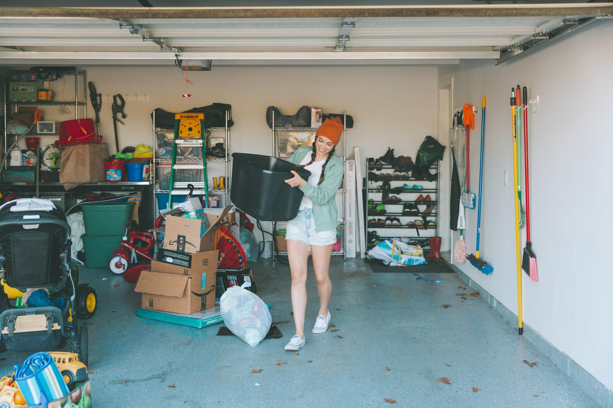 3 effective steps to organize your garage